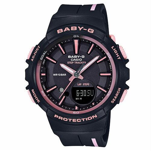 CASIOBABY-GBGS-100RT-1A計步功能StepTracker運動數位流行腕錶