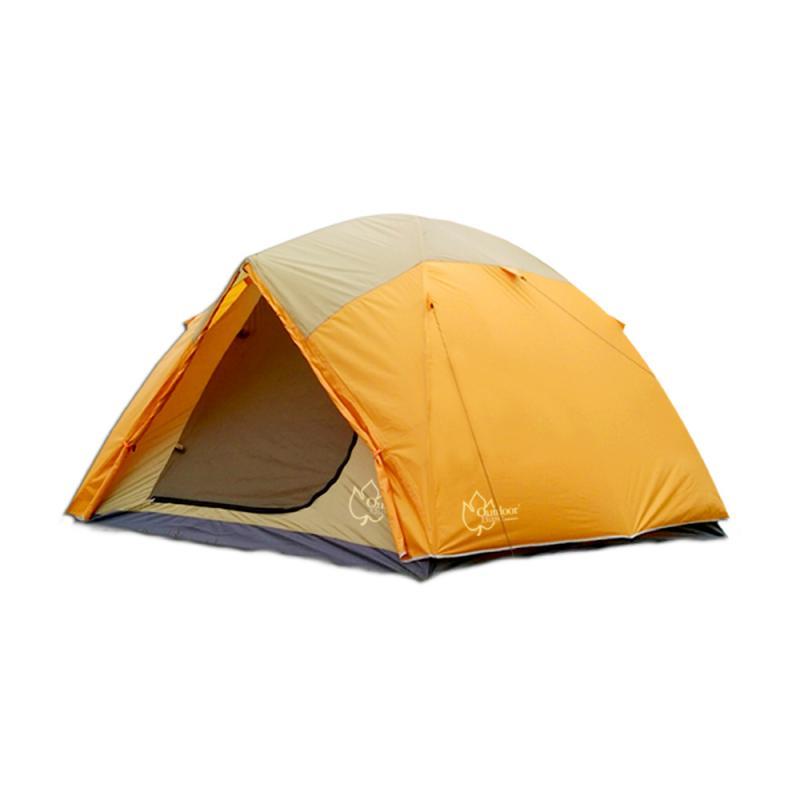 【Outdoorbase】桔野 4人~ 6人 家庭豪華延伸帳篷 露營 6人 帳 5人 帳篷  21201