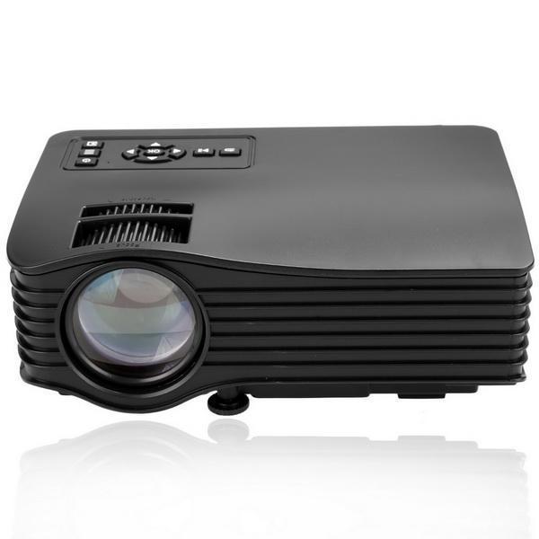 Mini LED LCD Projector HD 1080P PC AV USB SD Home Cinema Theater Multimedia 3