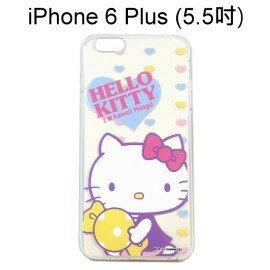 Hello Kitty 透明軟殼 [可愛] iPhone 6 Plus / 6S Plus (5.5吋)【三麗鷗正版授權】