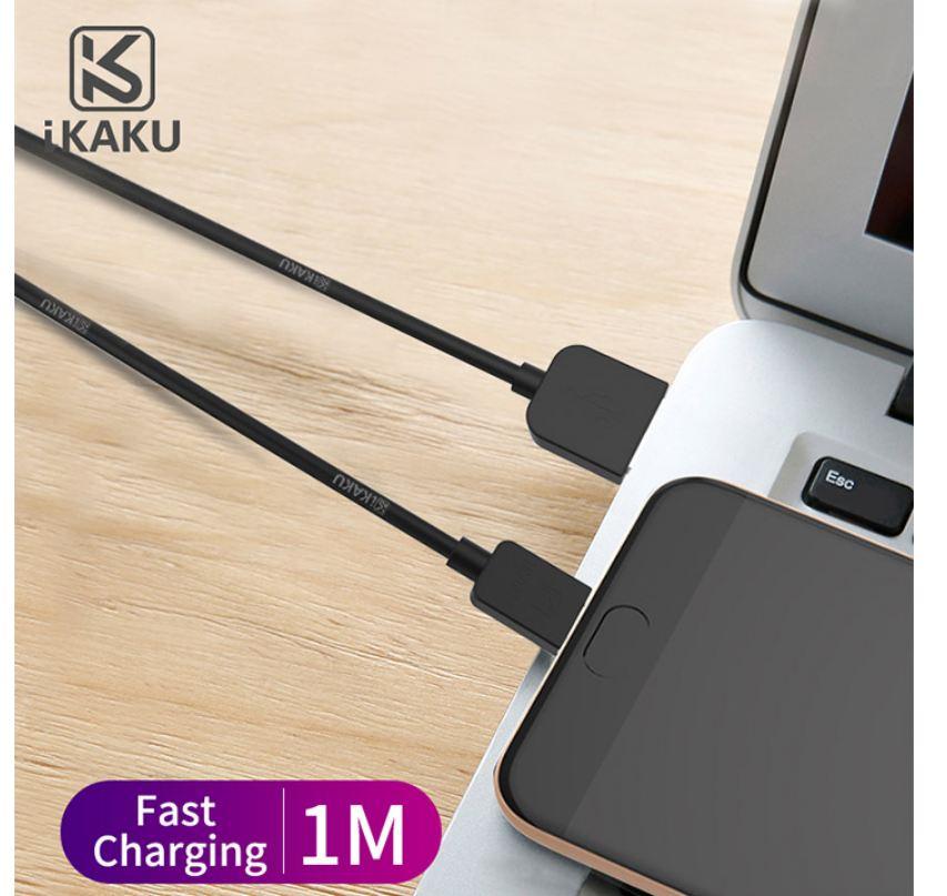 iKAKU Micro USB 旋風傳輸充電線 傳輸線 電源線 1M