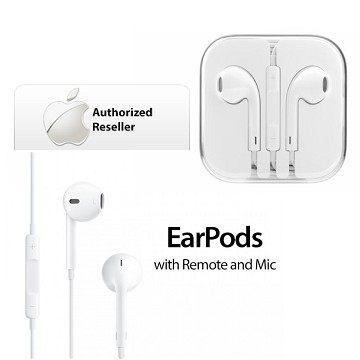 【YUI】Apple EarPods 原廠耳機 iPhone 6S/6/5S/5 原廠耳機 iPhone 6/6S Plus 原廠線控耳機 耳塞式 透明保護盒