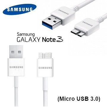【YUI 3C】SAMSUNG 原廠傳輸線 Note 3 N9000/S5 I9600 原廠傳輸線 充電線 Micro USB 3.0 裸裝