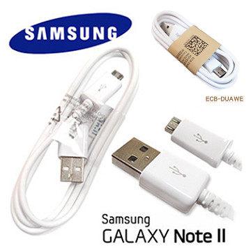 【YUI 3C】SAMSUNG i8750/Attiv S i9082/Grand Dous i8150/Galaxy W 原廠傳輸線 充電線 (Micro USB 2.0) 100cm白色