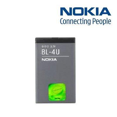 【YUI】NOKIA BL-4U BL4U 原廠電池 Asha 206 300 301 305 306 311 3120 500 5250 原廠電池 1000mAh/1110mAh