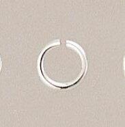 【圓環(小)10個入】純銀黏土 手作 銀飾 DIY 項鍊手鍊戒指