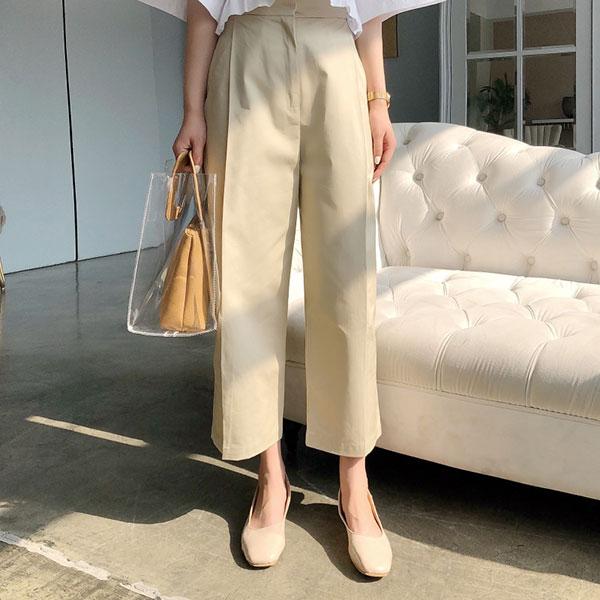設計師款西裝褲卡其長褲寬褲顯瘦長腿上班族韓國NXS