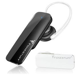 <br/><br/>  志達電子 Fonestuff瘋金剛 FB002 一對二雙待立體聲單耳藍牙/藍芽耳機(支援A2DP)<br/><br/>