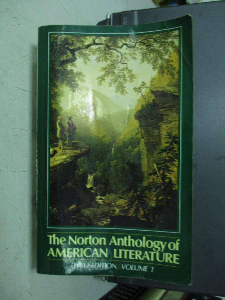 ~書寶 書T6/原文小說_YHF~The Norton…American Literatu