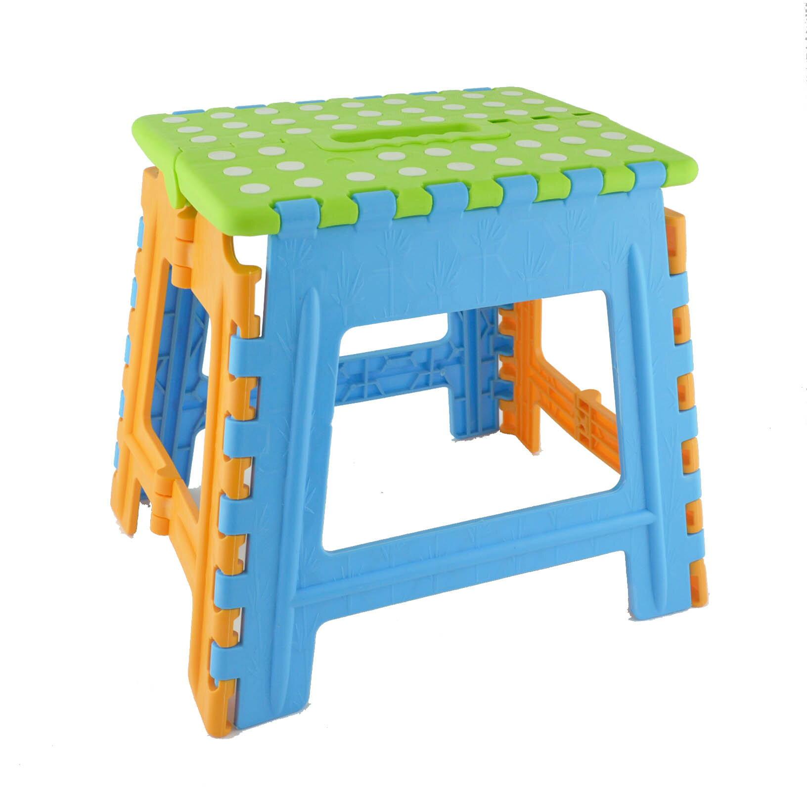 8805多功能折疊椅(大) 摺疊椅 折合椅 塑膠椅 休閒椅 餐椅 備用椅-不挑色
