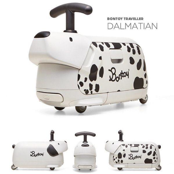 韓國 Bontoy Traveller 紅點設計美學騎乘行李箱(5款可選) 1