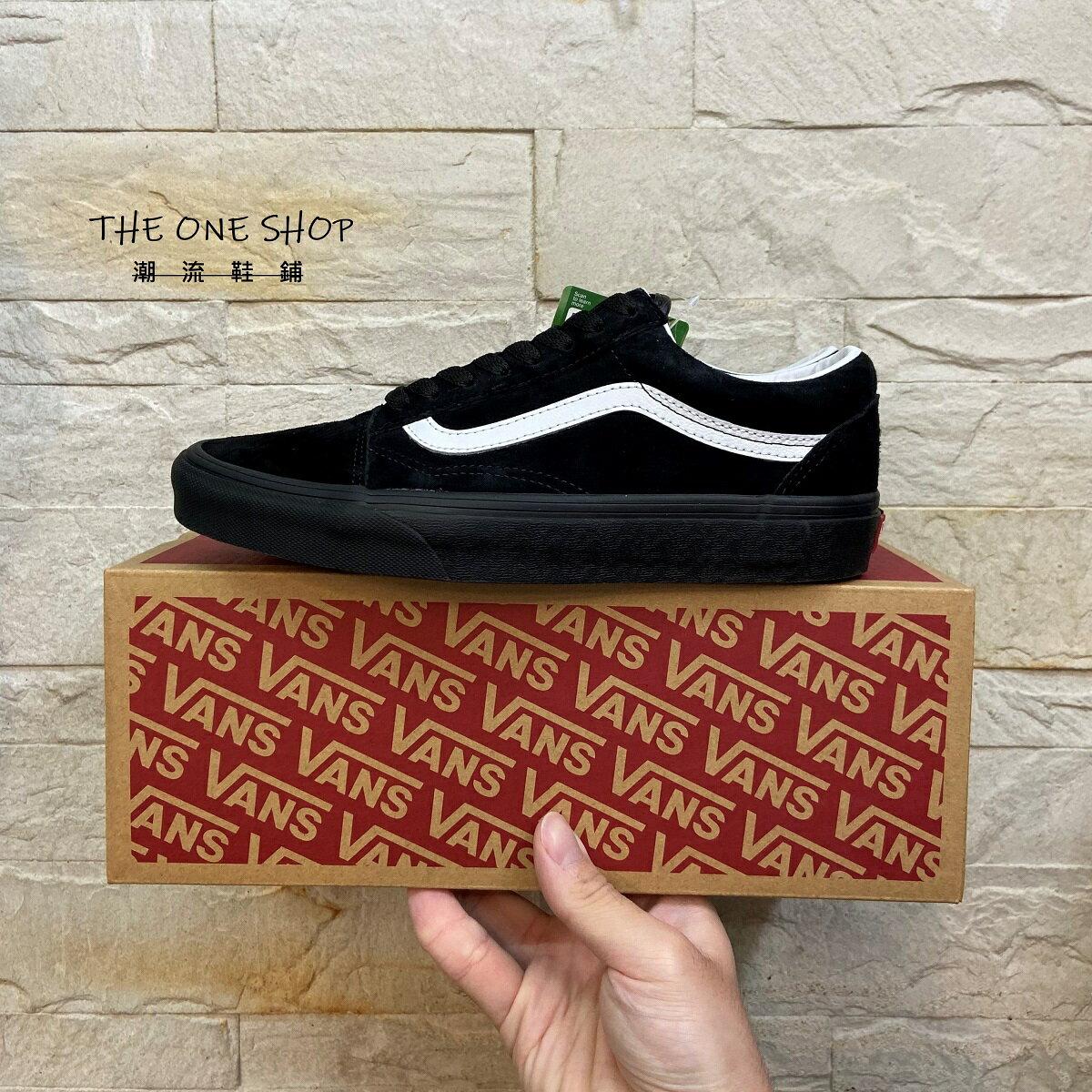 VANS Old Skool 防潑水 黑色 黑白 全黑 麂皮 板鞋 經典款 3D結構 防水科技 VN0A4U3B18L
