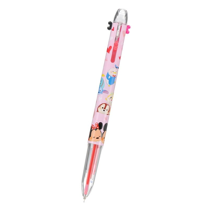 【真愛日本】16121500068三色自動筆--tusm  迪士尼 米老鼠米奇 米妮   原子筆  文具 迪士尼帶回
