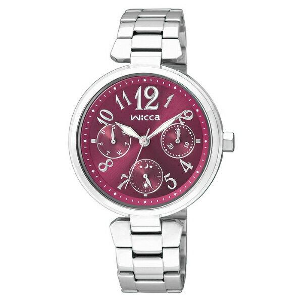 CITIZEN星辰WICCA(BH7-415-93)春青年華三環時尚腕錶/紅面33mm