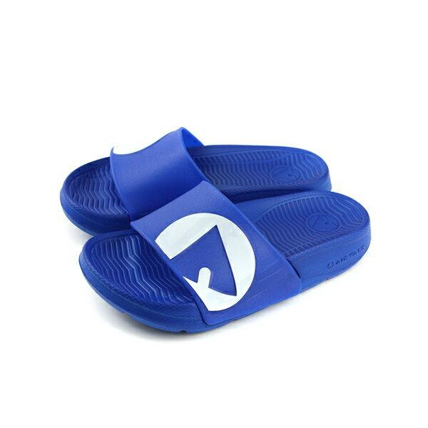 Airwalk拖鞋防水童鞋深藍色中童A823220282no006