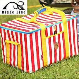 【【蘋果戶外】】Ridge Line R_25 韓國 裝備收納袋 L 草莓 多功能工具袋/裝備袋/收納方便