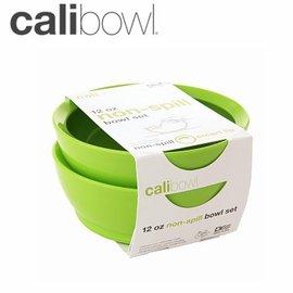 兒童餐具-Baby Joy World-【美國 Calibowl】專利防漏防滑幼兒學習吸盤碗 12oz 2入組-綠色