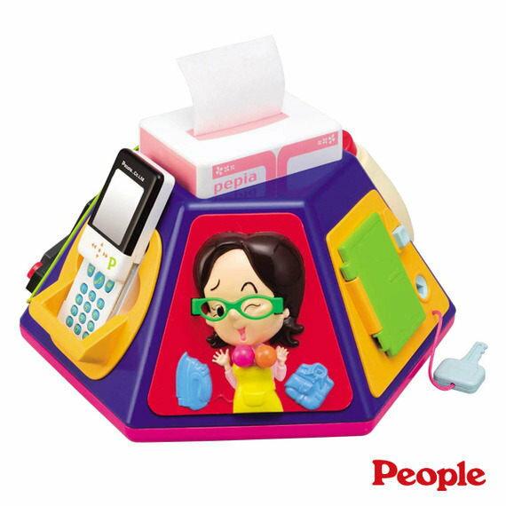 Baby Joy World-日本People 新超級多功能七面遊戲機 七合一認知學習玩具