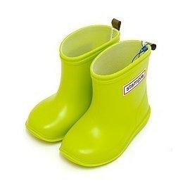 【日本stample】兒童雨鞋-青蘋綠+專用鞋墊一雙