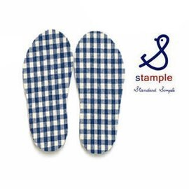 【日本stample】兒童雨鞋專屬鞋墊-海軍藍