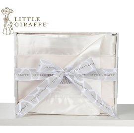嬰兒毯-Baby Joy World-【美國Little Giraffe】〈天鵝絨豪華系列〉天鵝絨豪華嬰兒毯棉被禮盒組-奶油黃(VLSSBKTCR)