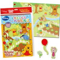 小熊維尼周邊商品推薦兒童磁鐵書-Baby Joy World-日本進口創意遊戲磁鐵書-Pooh 維尼與好朋友