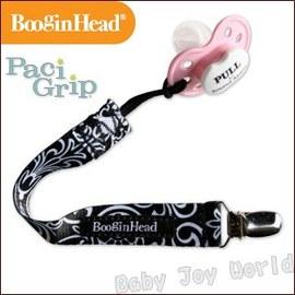 奶嘴鍊-Baby Joy World-美國BooginHead Paci Grip 奶嘴夾鍊-黑色豪華