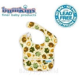 圍兜口水巾-美國Bumkins Super Bib透氣防水防臭兒童圍兜口水巾-森林朋友(S898)