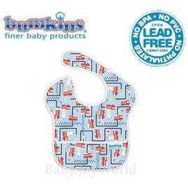 圍兜口水巾-美國Bumkins Super Bib透氣防水防臭兒童圍兜口水巾-消防車(S897)