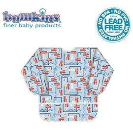 圍兜口水巾-Baby JoyWorld-美國Bumkins Long Sleeved Art Smock幼童長袖防水透氣圍兜【3-5歲適用(長袖)】-消防車(AS-897)