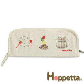 餐具收納包-Baby Joy World-日本Hoppetta 刺繡餐具收納包 # 522015