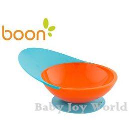 兒童學習餐碗-Baby Joy World-美國boon 吸盤式防滑學習餐碗-橘藍色