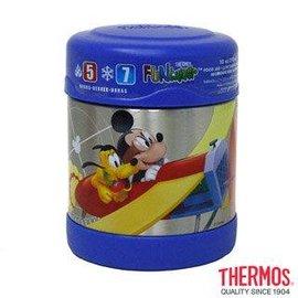 Baby Joy World-美國【Thermos】不鏽鋼食物保溫罐「廣口設計易清洗」-米奇