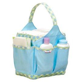外出媽媽包尿布袋-Baby Joy World-美國Munchkin 多口袋設計防水尿布袋媽媽包、多功能提袋收納袋