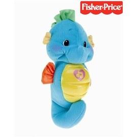 費雪聲光安撫海馬-Baby Joy World-費雪Fisher Price 聲光安撫海馬-藍色