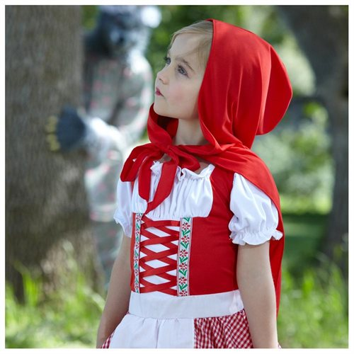 Lil' Miss Red Child Costume 2