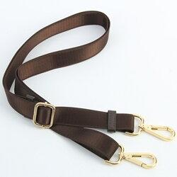 背包肩帶 2.5厘米咖啡色棕色包帶 男女包帶子 肩帶斜挎包帶長背帶配件
