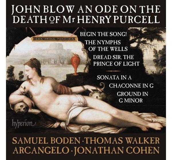 ~停看聽音響唱片~~CD~布羅:亨利.普賽爾先生逝世的頌歌及 作品
