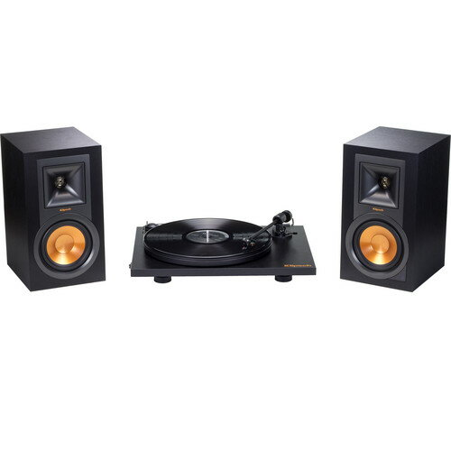 Klipsch R-15PM Stereo Speakers & Pro-Ject Primary Turntable Pack 1062948
