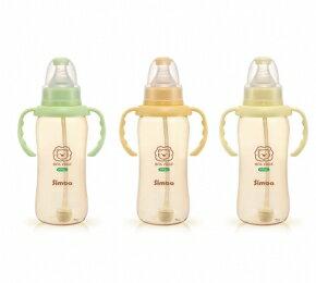 小獅王辛巴 PPSU自動把手葫蘆大奶瓶 320ml 顏色採 出貨 ~德芳保健藥妝~廠商缺貨