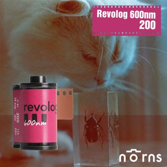 NORNS Revolog 600nm 改變照片顏色 200度 膠卷底片 【135mm 負片】底片相機 fm2 lomo