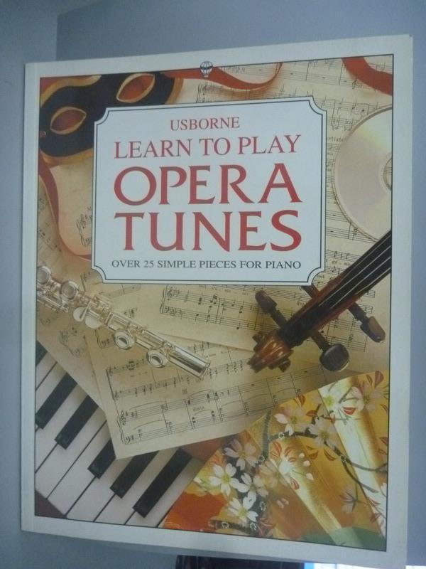~書寶 書T3/音樂_YBT~Learn to Play Opera Tunes_Hoop