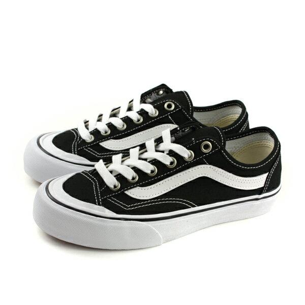 VANSStyle36Decon休閒布鞋帆布黑男女鞋182068205no498