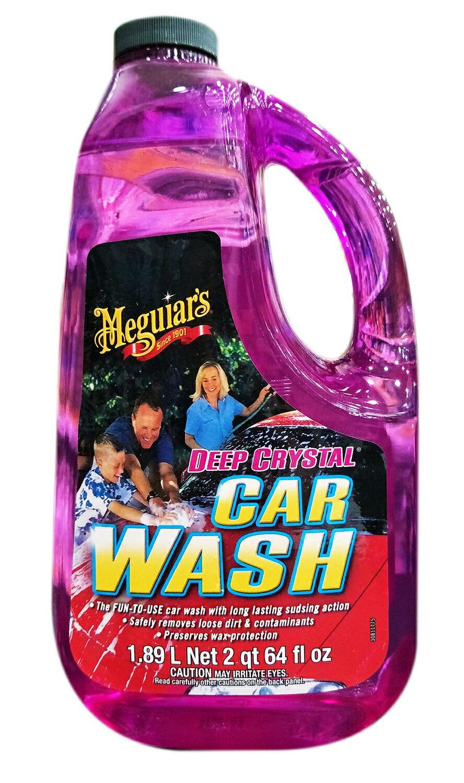 油夠便宜 Meguiar's 美光 深海水晶洗車精 G10464 #4104