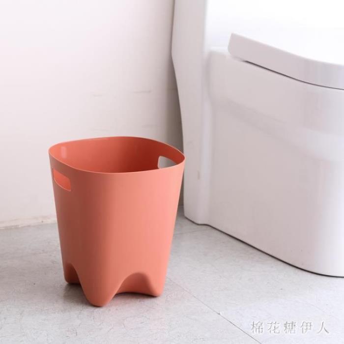 北歐方形垃圾桶 廚房客廳家用牙齒垃圾筒衛生間創意簡約無蓋紙