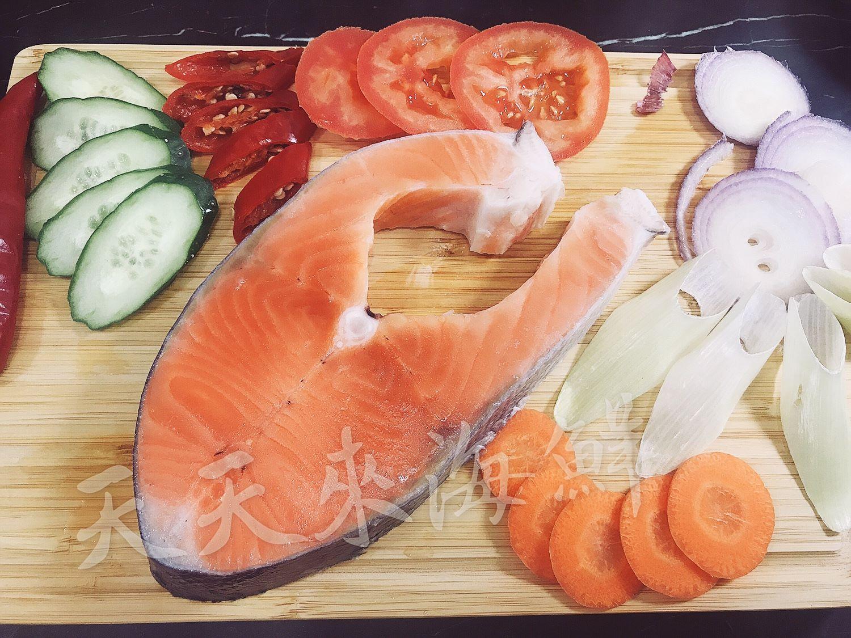 嚴選智利鮭魚片 重量:300g +-5%