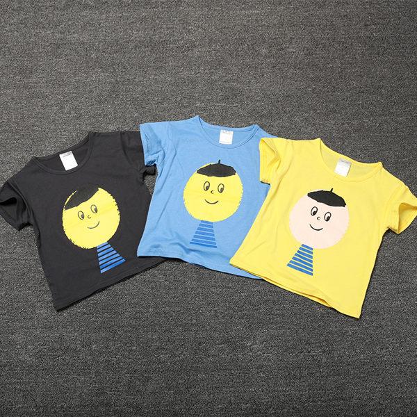 EMMA商城^~ BOBO系列大頭寶寶兒童 短袖T恤