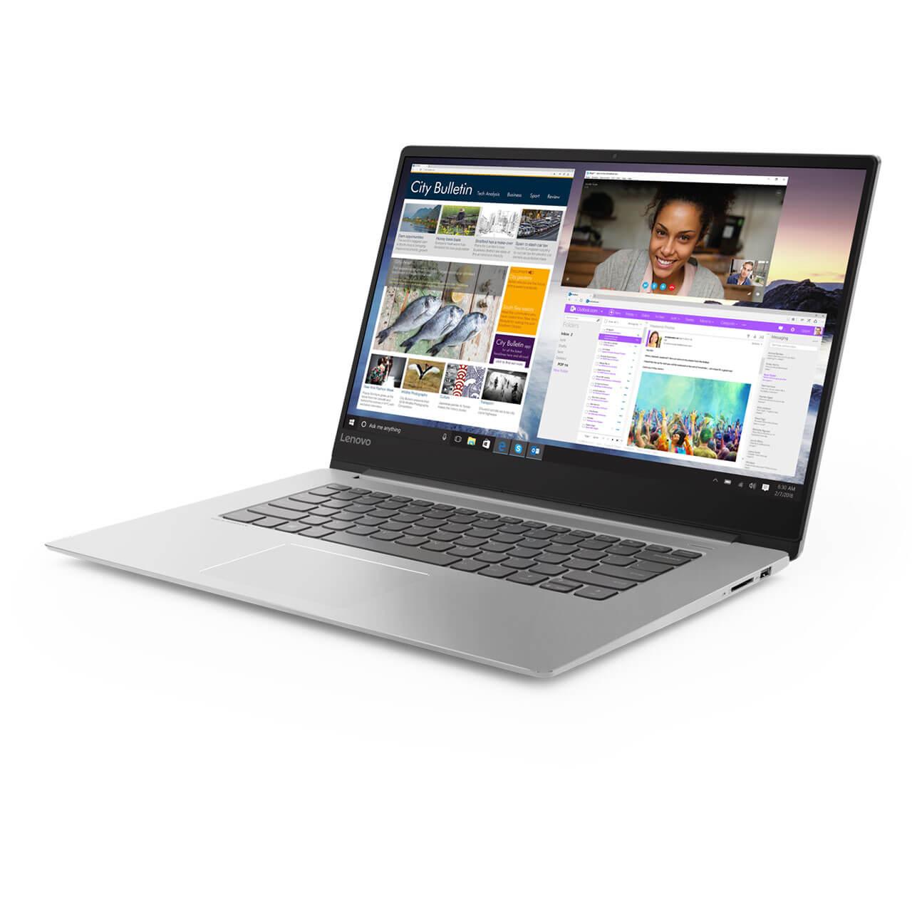 "Lenovo Ideapad 530S, 15.6"", i7-8550U, 8 GB RAM, 512GB SSD, Win 10 Home 64 0"