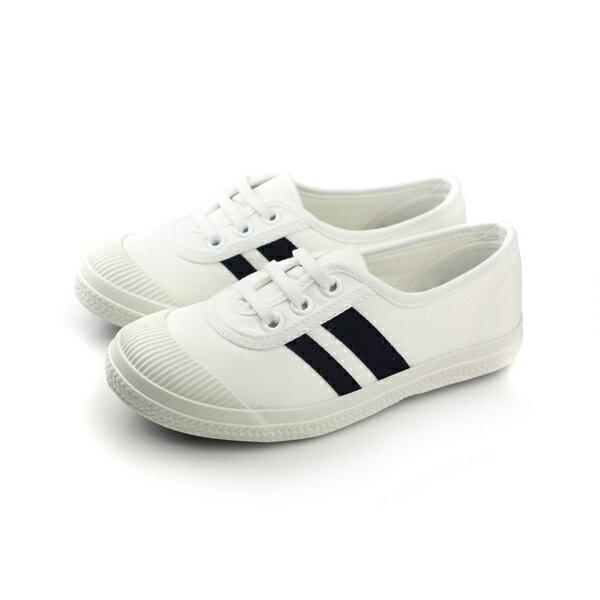 懶人鞋 童鞋 白色 大童 no047