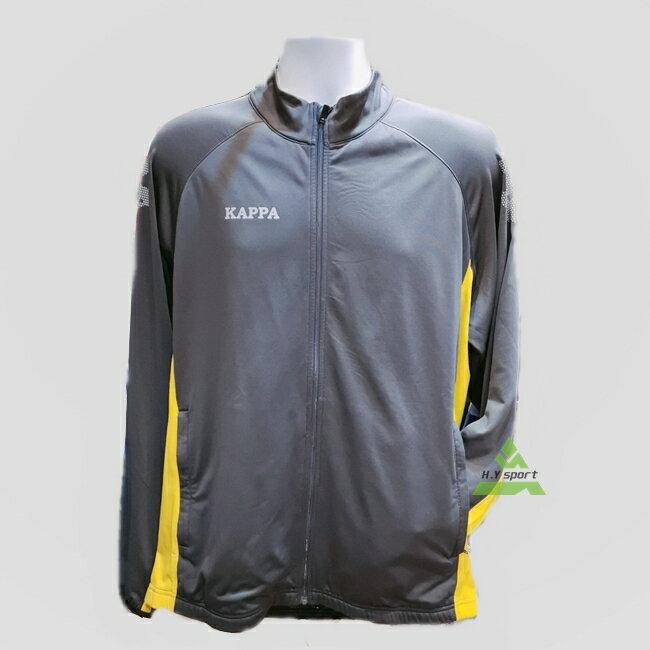 ON SALE↘6折【H.Y SPORT】 Kappa 中性針織單車外套 灰色 XL號 C293-2800-7 0